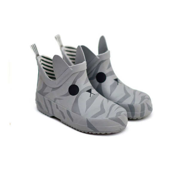 박스보 Kerran Rain Shoes Gray (K-101)