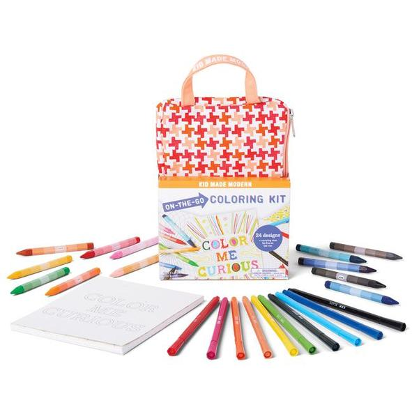 키드메이드모던(KID MADE MODERN) 칼라링키트 On-The-Go Coloring Kit