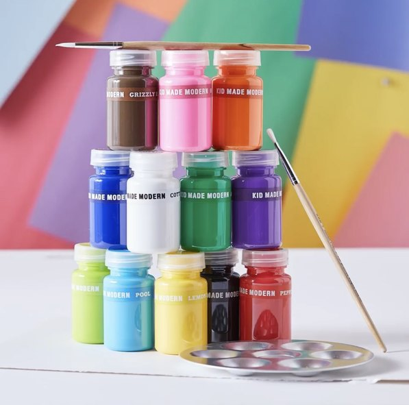 키드메이드모던(KID MADE MODERN) Washable paint set