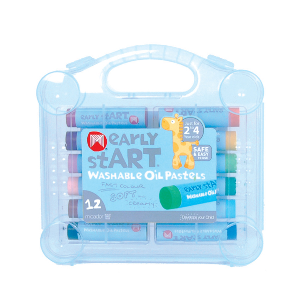 미카도르 (Micador) Washable oil Pastels,12s