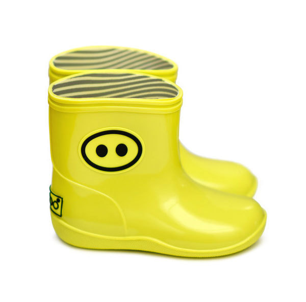 박스보(boxbo)  Kawai rain shoes Yellow(bk-02)