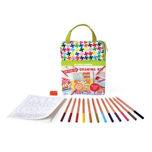 키드메이드모던 (KID MADE MODERN)  드로잉키트 On-The-Go Drawing Kit